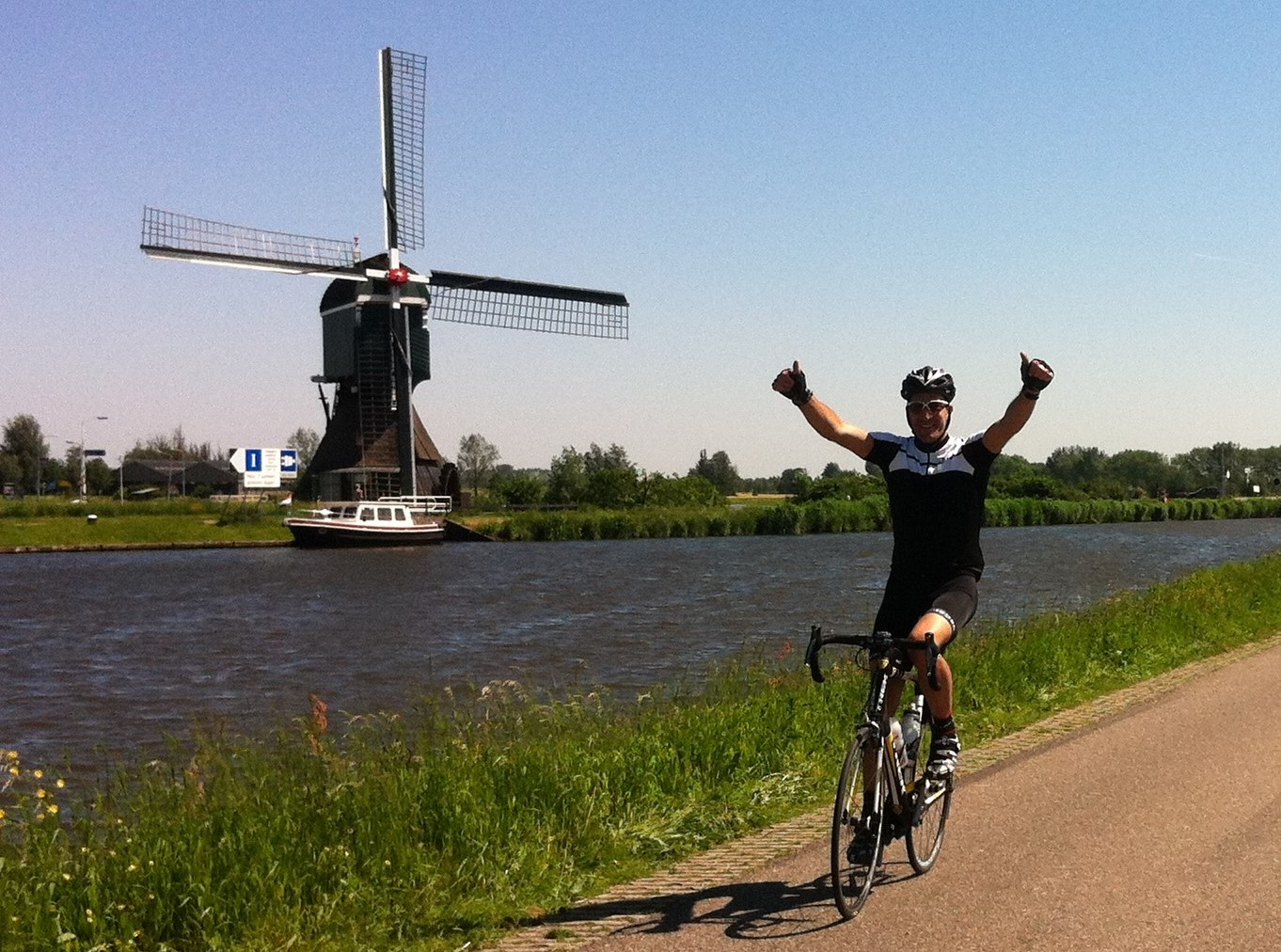 London to Amsterdam Cycle Ride