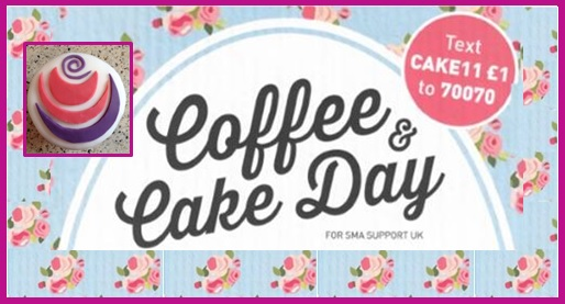 Coffee and Cake Day for SMA Support UK