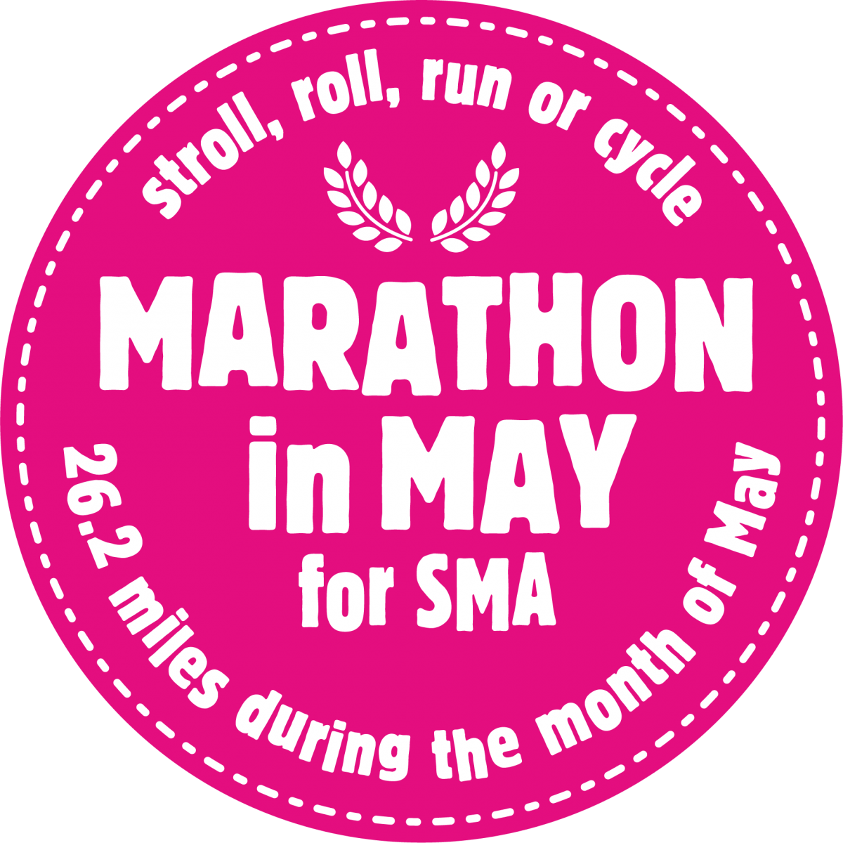 Marathon in May for SMA