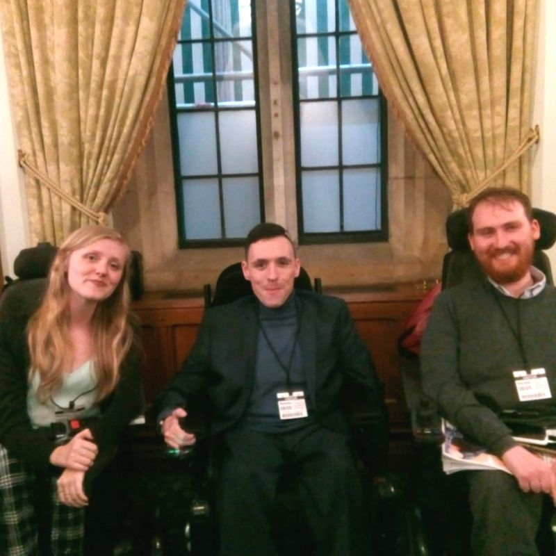 Members of The Young Adult Network Visit Parliament