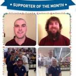 January's Supporter of the Month