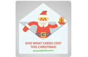 Don't Send a Card This Christmas