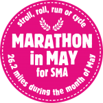 Thank you for supporting Marathon in May for SMA